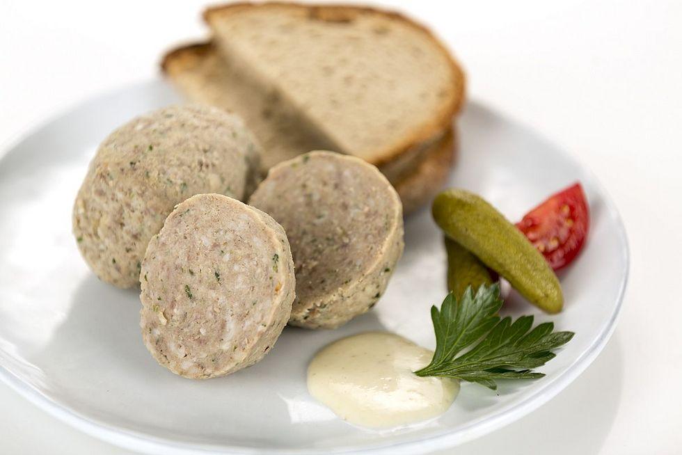 Fleischknödel (1,00€ / Stück / 100g) Pfälzer Spezialitäten